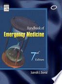 Handbook Of Emergency Medicine  7Th Edition  Book