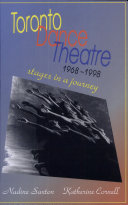 Toronto Dance Theatre 1968-1998 ebook