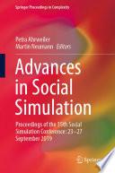 Advances in Social Simulation