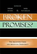 Broken Promises? Pdf/ePub eBook