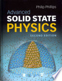 Advanced Solid State Physics Book