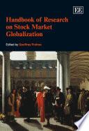 Handbook of Research on Stock Market Globalization