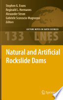 Natural and Artificial Rockslide Dams Book