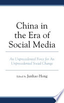 China in the Era of Social Media Book