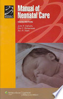 Manual Of Neonatal Care Book PDF