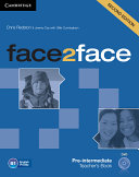 Face2face Pre intermediate Teacher s Book with DVD