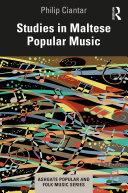 Studies in Maltese Popular Music