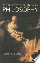 A Short Introduction to Philosophy