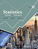 Statistics for Business and Economics Book