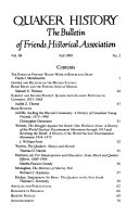 Quaker History