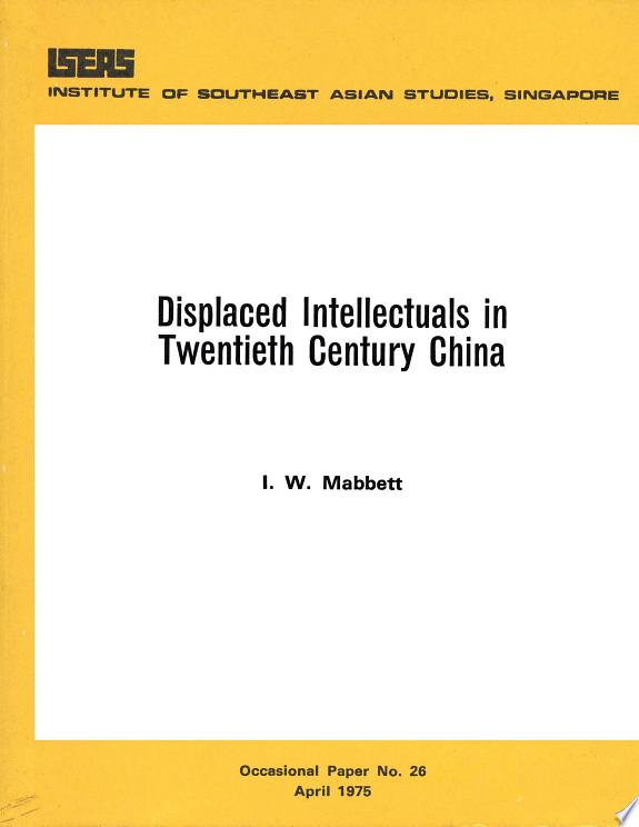 Displaced Intellectuals in Twentiet
