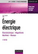 Pdf Energie électrique - 3e éd. Telecharger