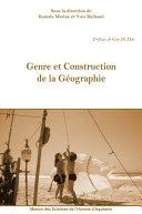 Pdf Genre et Construction de la Géographie Telecharger