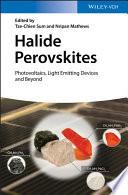Halide Perovskites