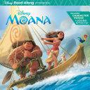 Moana Read Along Storybook