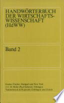 Handwörterbuch der Wirtschaftswissenschaft: Terminmärkte bis Wirtschaft der DDR