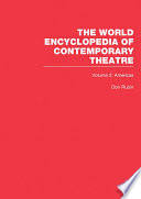 World Encyclopedia of Contemporary Theatre Book PDF