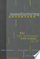 Manufacturing Advantage