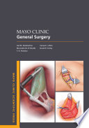 Mayo Clinic General Surgery Book