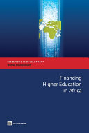Financing Higher Education in Africa