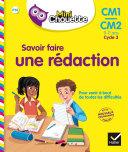 Mini Chouette - Savoir faire une rédaction CM1/CM2 9-11 ans [Pdf/ePub] eBook