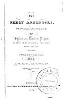 Pdf The Percy Anecdotes