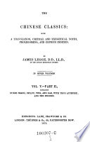 Dukes Seang  Ch aou  Ting  and Gae  with Tso s appendix  and the indexes