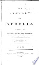 The History of Ophelia