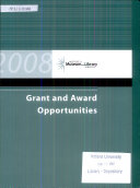 Grant and Award Opportunities