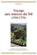 Pdf Voyage aux sources du Nil (1769-1770) Telecharger