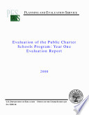 Evaluation of the public charter schools program year one evaluation report Book
