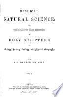 Biblical Natural Science
