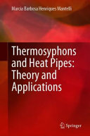 Thermosyphons and Heat Pipes  Theory and Applications Book