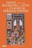 Hafiz and the Religion of Love in Classical Persian Poetry Pdf/ePub eBook