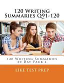 120 Writing Summaries Q91-120