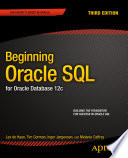Beginning Oracle SQL