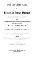 Pdf Wild Life on the Plains and Horrors of Indian Warfare