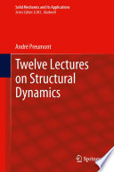 Twelve Lectures on Structural Dynamics Book