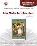 Like Water for Chocolate Novel Units Teacher Guide
