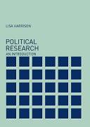 Political Research Pdf/ePub eBook