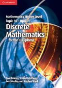 Books - Mathematics Higher Level For The Ib Diploma: Option Topic 10: Discrete Mathematics | ISBN 9781107666948