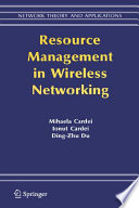 Resource Management In Wireless Networking Book PDF