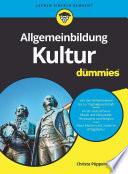 Öffnen Sie das Medium Allgemeinbildung Kultur für Dummies von Pöppelmann, Christa im Bibliothekskatalog