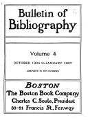 Bulletin of Bibliography & Magazine Notes
