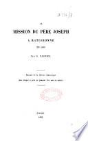 La mission du Père Joseph à Ratisbonne en 1630