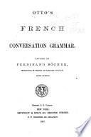 French Conversation Grammar Book