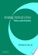 Analog Optical Links