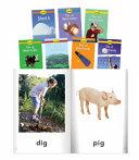 Short I Word Families  Grade PreK K 8 Book Set