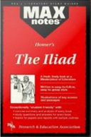 Iliad  the  MAXNotes Literature Guides