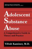 Pdf Adolescent Substance Abuse Telecharger